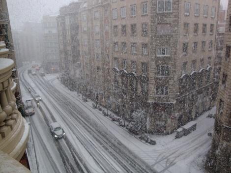 2 Nieve en Barcelona